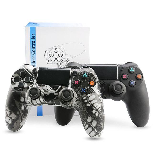 تنطبق PC ألعاب كمبيوتر PS4 أداة تحكم في الألعاب لاسلكية غمبد