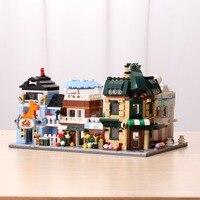 XINGBAO Building Blocks The Coffee Shop Wedding Store Flower Shop Pet Shop Compatible Legoe& Lepin Educational Toys For Children