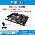 Firefly RK3288 Плюс Quad Core ARM Cortex-A17 Совет По Развитию 4 Г DDR + 32 Г eMMC 4 К 5 GWifi android + linux os Двойной демо-плате