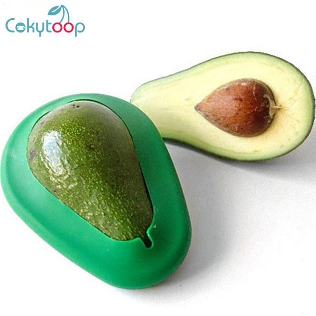 Cokytoop 2 pcs Abacate Saver Alimentos Envoltório Huggers Dobrável Friut Preservação Selo Capa de Silicone Manter Fresco Tampas de Cozinha Ferramenta