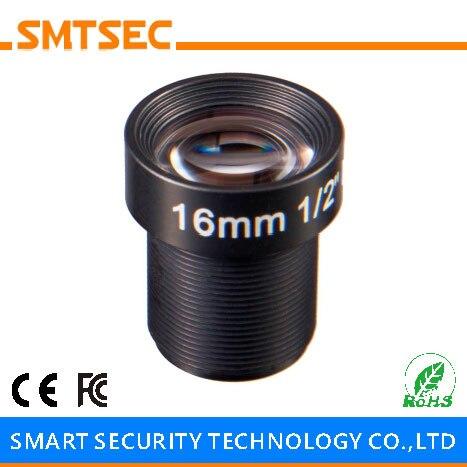 SMTSEC SL HD1618BMP 16mm HD IPC Lens 1 2 F1 8 M12 0 5 Mount 5