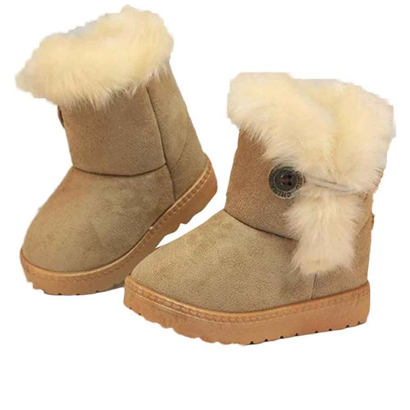 Fashion Winter Baby Girls Child Snow Boots Warm Shoes baby boots Baby Girl Boy Shoes sap ...