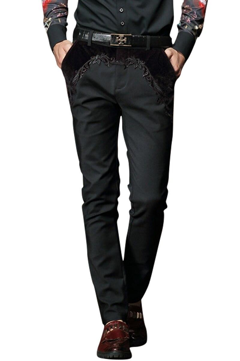 Envío gratis nueva moda casual masculina de los hombres ropa de - Ropa de hombre - foto 2