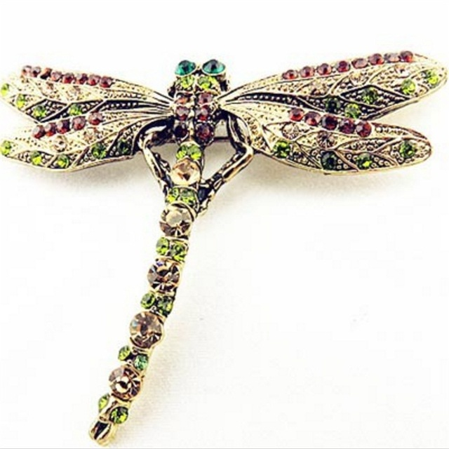 2018 New Fashion Summer Jewelry Accessories Brooch For Girl Vintage Lovely Drago