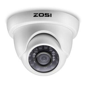 Image 4 - ZOSI 4CH מלא 1080P וידאו אבטחת מצלמה מערכת, 4 עמיד 1920TVL 2.0MP מצלמות, 4 ערוץ 1080P HD TVI H.265 DVR עם 1TB
