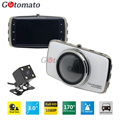 Gotomato FHD 1080P Dual Camera Allwinner V3 Chip Fisheye Lens 170 Degree Car DVR Camera Video Recorder 4.0 Inch TFT Screen