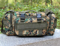 1pc/lot Camouflage Bag Military Waist Pack Canvas Camera Single Shoulder Messager Bag 5 Colors PA641456