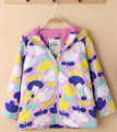 Girls plus velvet jacket MINI BODEN the original single weatherproof fleece jacket in foreign trade of the original single