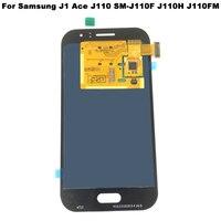 Super AMOLED LCD Display For Samsung Galaxy J1 Ace J110 SM J110F J110H J110FM LCD Display Touch Screen Digitizer Assembly