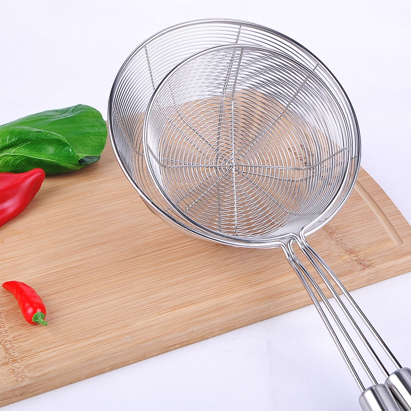 kitchen colander island design ᑐstainless steel cooking pro strainer noodles stainless two types food filter