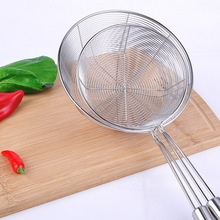 Stainless Steel Cooking Colander Pro Kitchen Strainer Noodles Two Types Food Filter