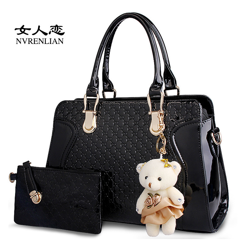 ФОТО 2017 new handbag Korean fashion bag woman hand bag shoulder bag big cross
