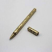 Handmade Brass Gel Pen Refilled Pen