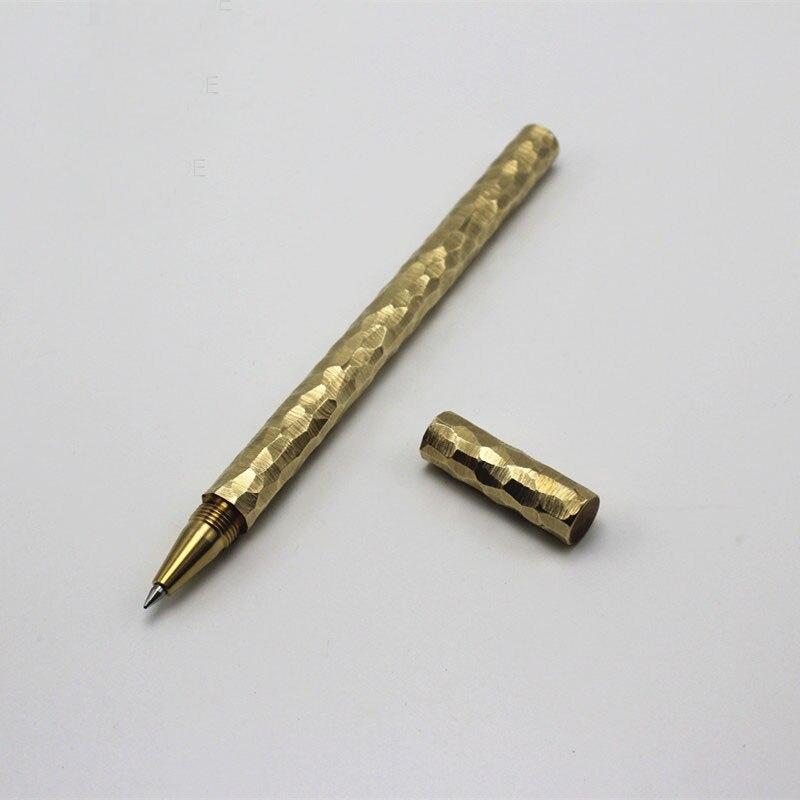Handmade Brass Gel Pen Refilled PenHandmade Brass Gel Pen Refilled Pen