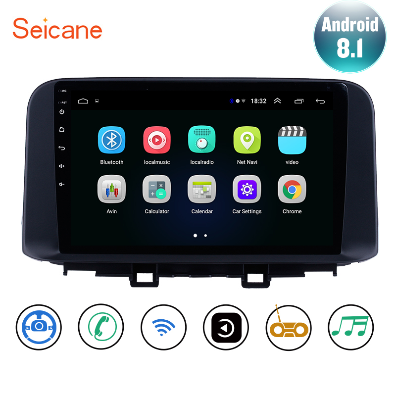 Seicane Android 8 1 For Hyundai ENCINO kona 2018 2019 Car GPS Navi Multimedia Player Stereo