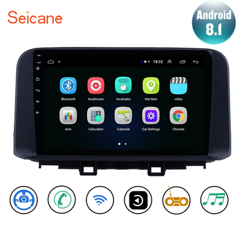Seicane Android 8.1 For Hyundai ENCINO kona/Tucson 2018 2019 Car GPS Navi Multimedia Player Stereo support Carplay Rear Camera image
