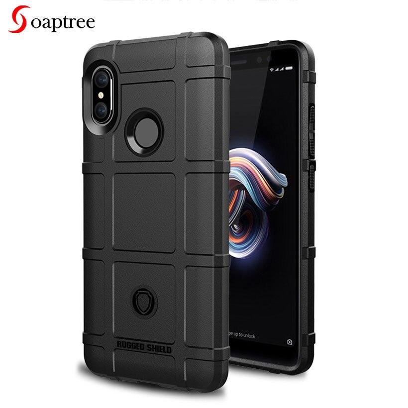 Rugged Silicone Cases For Xiaomi Redmi Note 5 6 Case For Xiaomi Redmi 5 Plus Note 5 6 Pro Mix 2S Pocophone F1 Cover Coque Funda