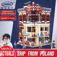 Xingbao 01006 Creator Expert The Toys and Bookstore Set education Building Blocks Bricks Toys For Kids Christmas Gifts