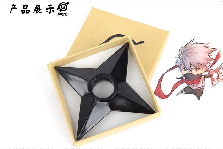 Plastikowe anime naruto Cosplay Shuriken Ninja gwiazdy Ninja rzutki broń rekwizyty broń pcv figurka Cosplay zabawki