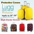 Viagem on Road bagagem capa protetora para tronco caso se aplica a 18 '' ~ 30 '' mala capa protetora elástico grosso perfeitamente