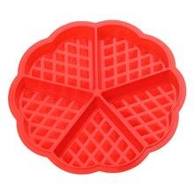 Silikonowa forma do gofrów – różne kształty