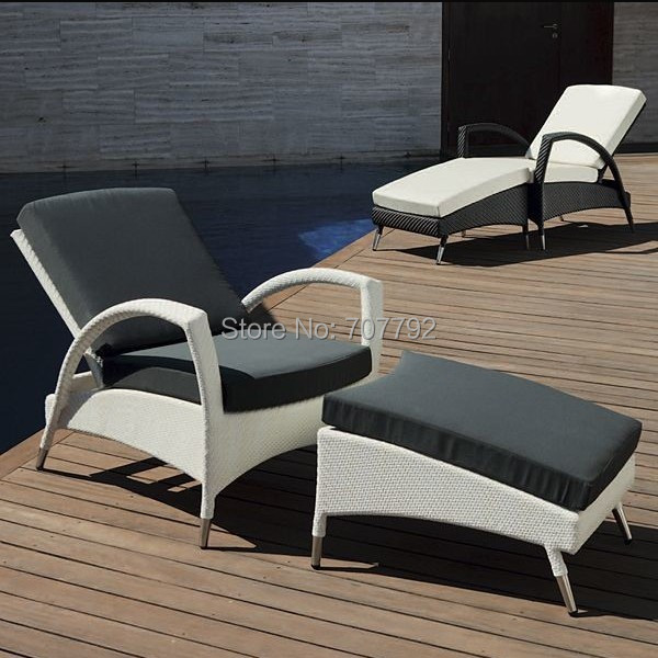 awesome 2015 all weather outdoor lounge chairs patio furniture sun loungerschina mainland - Garden Furniture Loungers