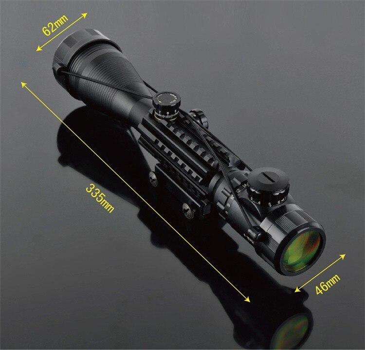 C 4-16X50 EG LLL Night Vision Scopes Air Rifle Gun Riflescope Outdoor Hunting Telescope Sight High Reflex Scope Gun-sight Optics