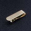 Estilo Casual 1 polegada de Ouro/Ouro Branco Fosco Mini Fecho Alfinetes de Gravata Para Gravatas finas