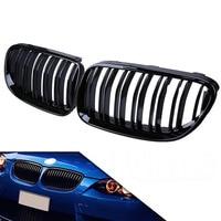 2011 2013 2Pcs Front Bumper Grille Grill For BMW E92 E93 LCI Coupe 320i 328i