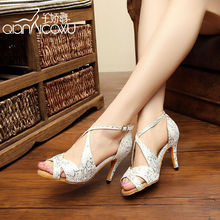 Gril Salsa Dance Shoes Leather Latin Dancing Sneakers Social Jazz Shoe Flesh white Fitness Breathable For