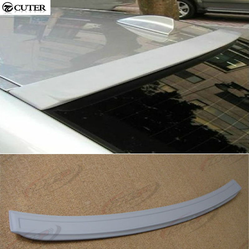 ФОТО High quality E90 AC Style ABS Auto Car Roof Wing Spoiler For BMW E90 05-08