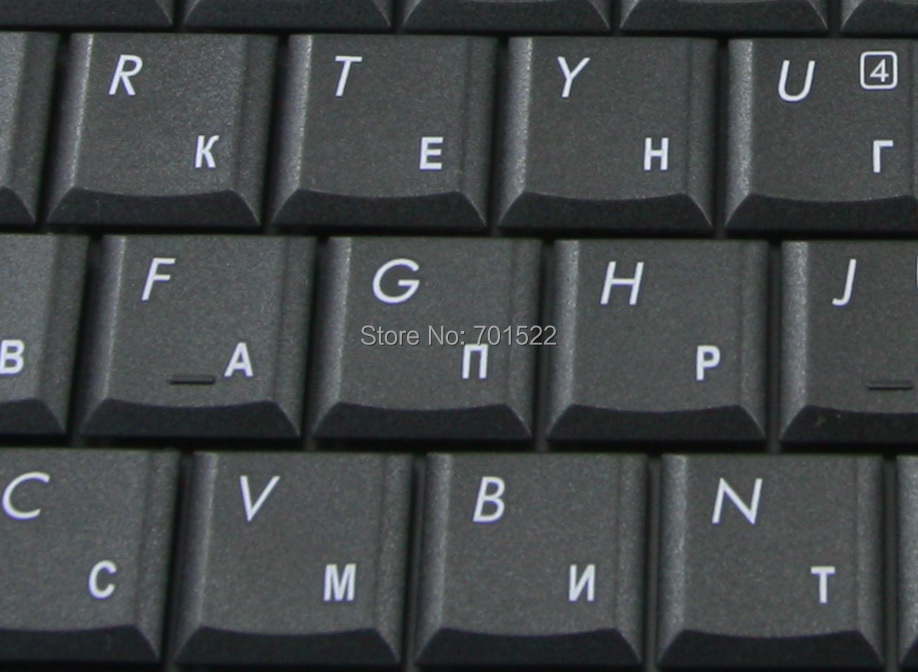 Image 3 - New Russian RU Laptop keyboard for HP Compaq Presario C700 C727 C729 C730 C769 G7000 Black 454954 251 V071802AS1 PK1302E0160-in Replacement Keyboards from Computer & Office on