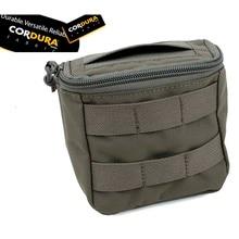 TMC Outdoor Tactical MOLLE Vest Bag Disposable Glove Pouch Field Medic EMT Pouch Matte CB/RG/BK