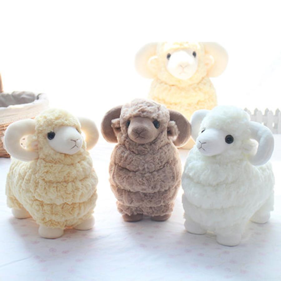 Stuffed Goat Toy Plush Baby Child Doll Kawaii Stuff Pillow Sheep