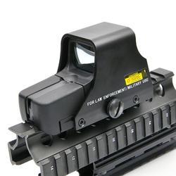 Коллиматор голографический прицел красный и зеленый точка оптический вид рефлекс с 20 мм рельсовые крепления для снайперская винтовка для