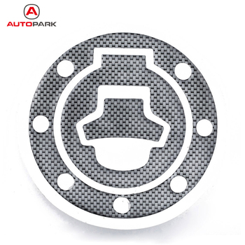 New Carbon-Look Fuel / Gas Cap Cover Pad Sticker For Suzuki Katana GSX 600F 750F R 600 750 image