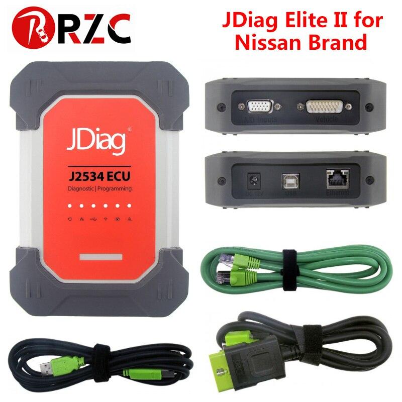 JDiag Elite pro For Nissan Infiniti Automotive Scanner support ECU programming for Nissan brands Elite ii
