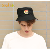 Facial Expression Package Design Skateboard Hat Positive And Negative Can Wear For Hip Hop Men Or
