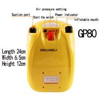 GP80 Bote De Borracha Inflável Bomba De Alta pressão da Bomba Elétrica De Barcos de Assalto Barco De Pesca Barco Inflável Bomba Elétrica 12 V 1 PC|pump 12v|pump pumppump electric -