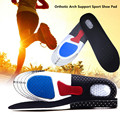1Pair Unisex Orthotic Arch Support Sport Shoe Pad Running Gel Insoles Insert Cushion for Men Women