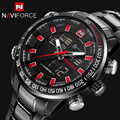 NAVIFORCE Brand New Fashion Digital Mens Watches Men Business Waterproof Clock Men Quartz Casual Wristwatches Relogio Masculino