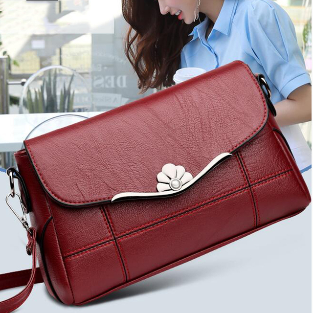 Crossbody Bags for Women 2020 New Black&Red