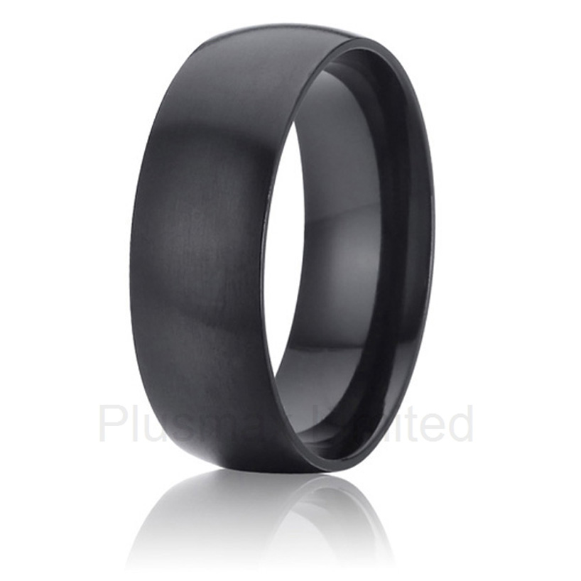 China factory Global wholesaler wedding band black jewelry aircraft grade titanium rings for men friedrich ii memoirs of the house of brandenburg from the earliest accounts to the death of frederic i king of prussia