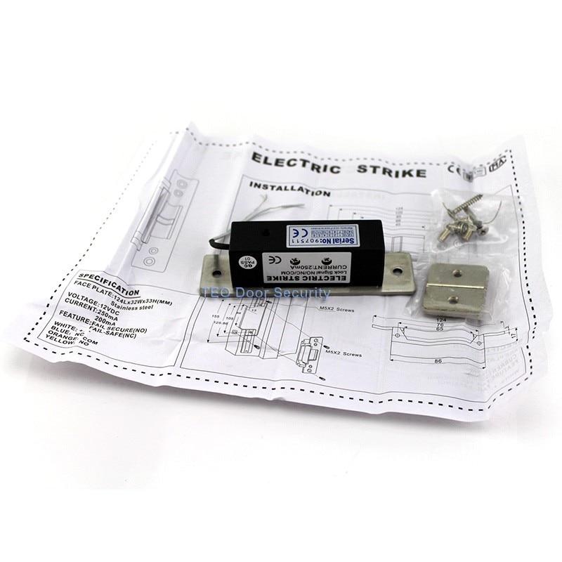 ANSI standardna jaka električna brava 800kg s električnim udarom od - Sigurnost i zaštita - Foto 3