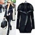 Alta qualidade outono inverno casaco de lã casaco mulheres temperamento fino trincheira femininos mulheres casaco de lã frete grátis 41