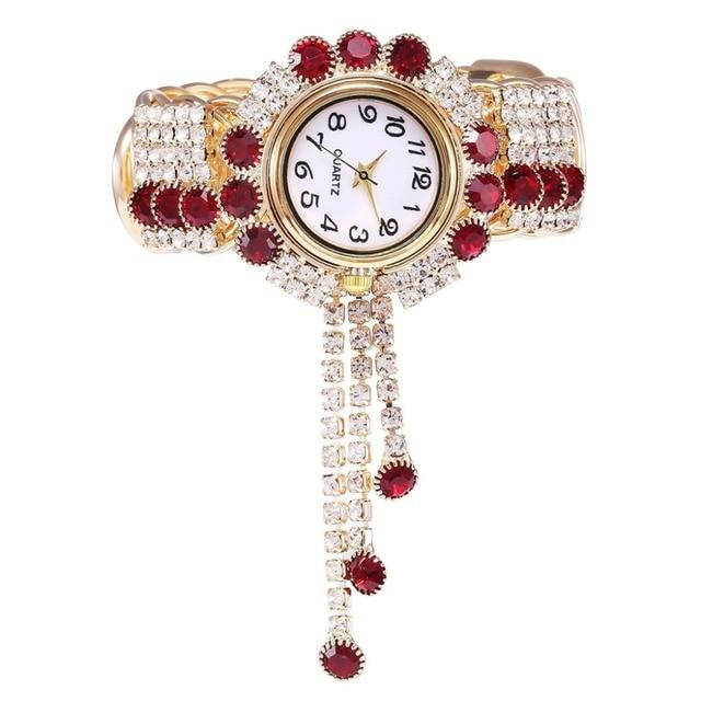 New Style Women's Watches Girls Clock Alloy Fashion Watch Creative Wristwatches Fringe Quartz Bracelet Watch models Relojes  Q4 1