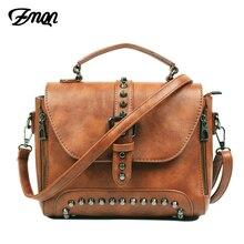 ZMQN Crossbody Bags For Women 2020 Shoulder Bags Female Vintage Leather Bags Women Handbags Famous Brand