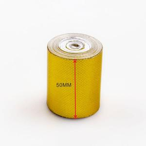 Image 2 - Car Thickened Heat Shield Reflective Aluminum Foil Tape Auto Engine Pipe Cover Temperature Isolat Adhesive