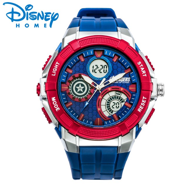 2018 Disney Kids Watches Top Brand Luxury Date Digital Wristwatches for Students