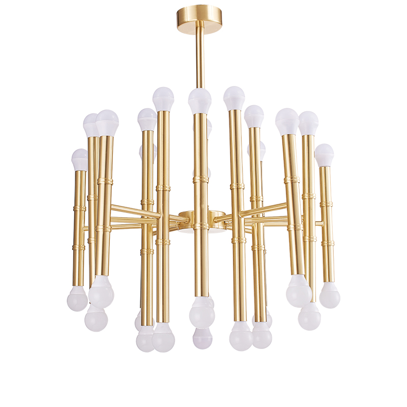 30 head modern LED Pendant light gold chrome black color Toolery hanglamp E14 3W LED lamp fashion nodric droplight free shipping replacement lcd display capacitive touch screen digitizer assembly for lg d802 d805 g2 white